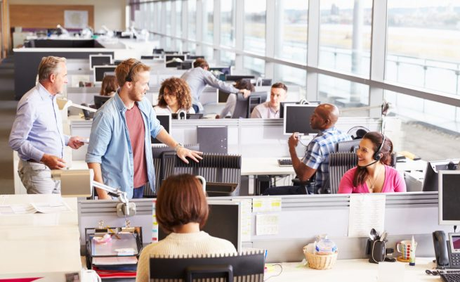 Commercial office jobs
